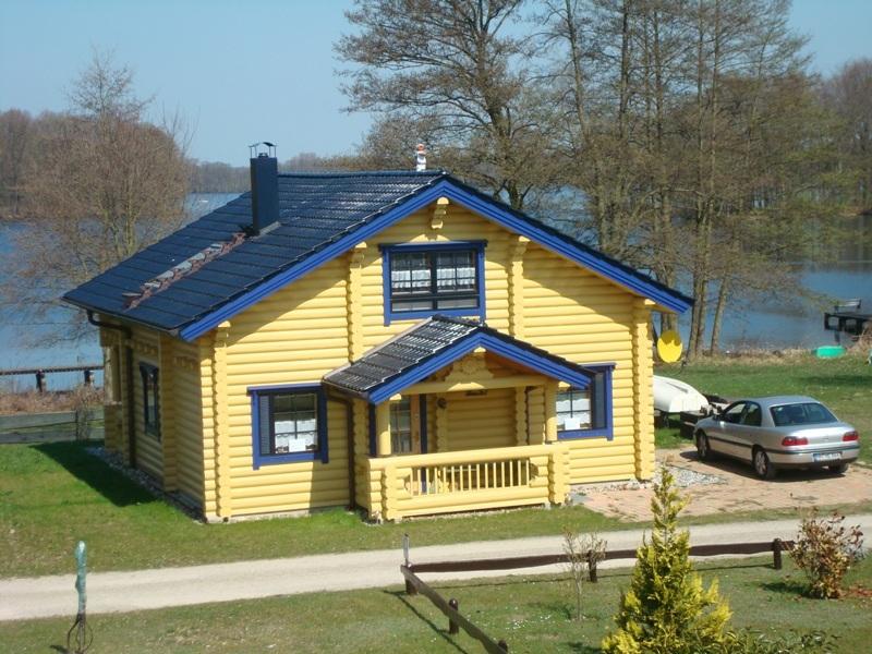 ferienhaus d mmer see finnisches blockbohlenhaus amarelo ferienwohnung urlaub. Black Bedroom Furniture Sets. Home Design Ideas